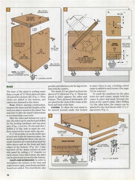 Flip Top Cabinet Plans