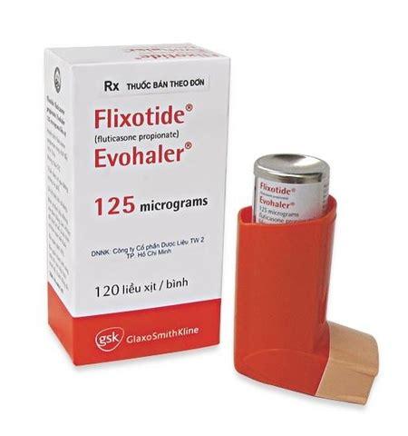 flixotide evohaler 125 mcg in milligrams