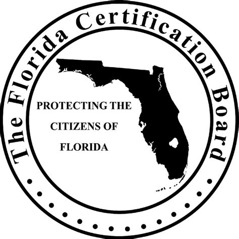 Florida Certification Board Application Florida Certification Board