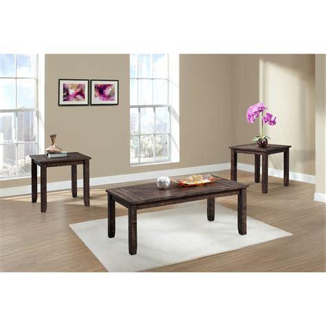 Flynn 3 Piece Coffee Table Set
