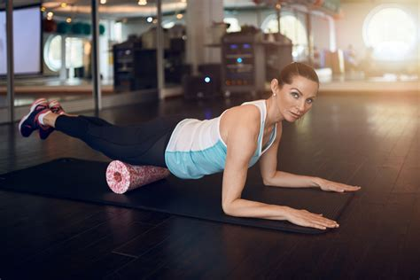 foam roll hip flexor stretch exercises for plantar