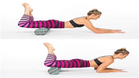 foam roller hip flexor stretches yoga youtube yoga