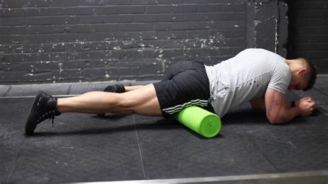 foam rolling hip flexor tightness special test