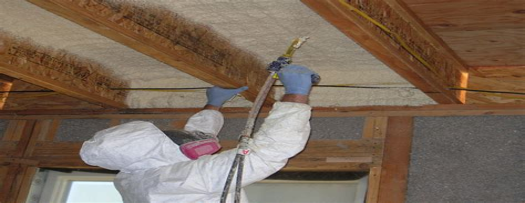 Foam Insulation Attic