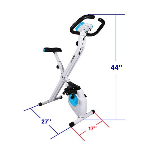 folding exercise bike sears