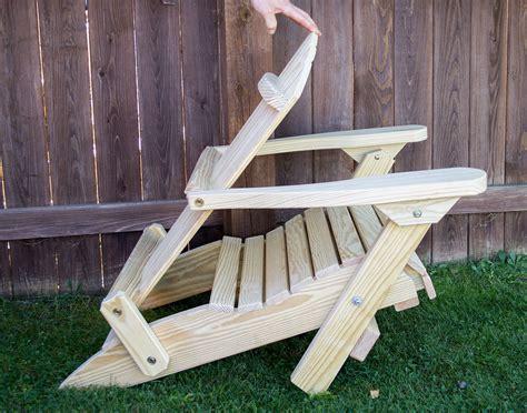 Folding Adirondack Chair Pattern