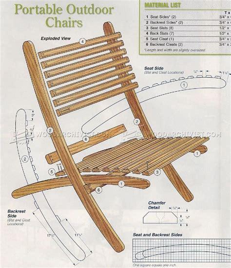 Folding Chair Design Plans