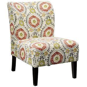 Fontanne Floral Slipper Chair