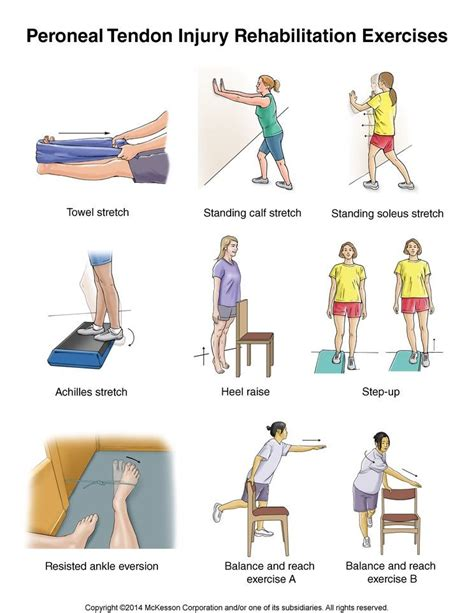 foot tendonitis physical therapy exercises