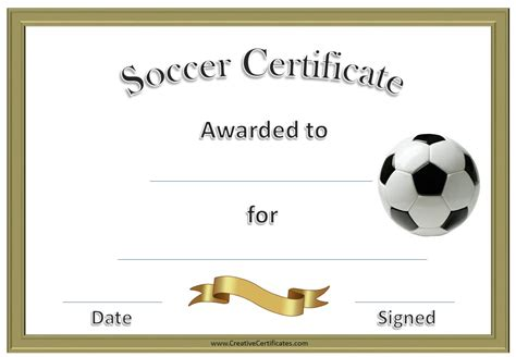 Football certificate templates uk resume builder registration football certificate templates uk 49030 free powerpoint templates from presentation magazine yelopaper Gallery