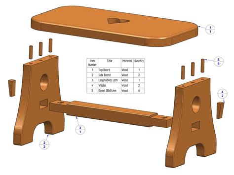 Footstool Woodworking Plans