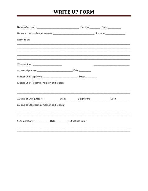 write up form pdf