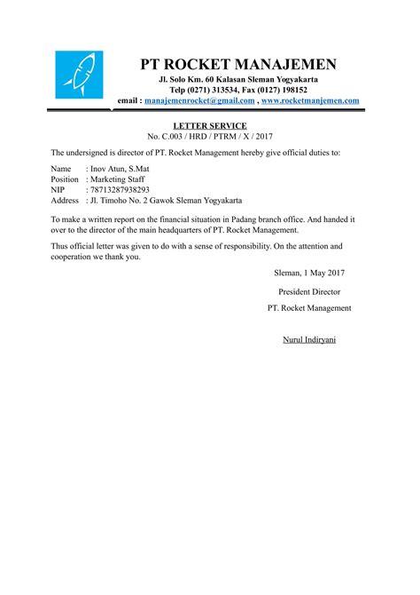 Formal Letter Bahasa Inggris Resume Writing Nz