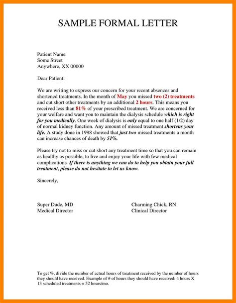 Formal Letter Example Ielts Example Of A Formal Letter And Envelope Learn English