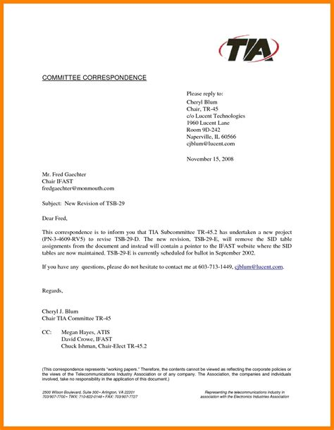 Formal Letter Format Using Cc How To Cc A Business Letter To Multiple Parties Chron