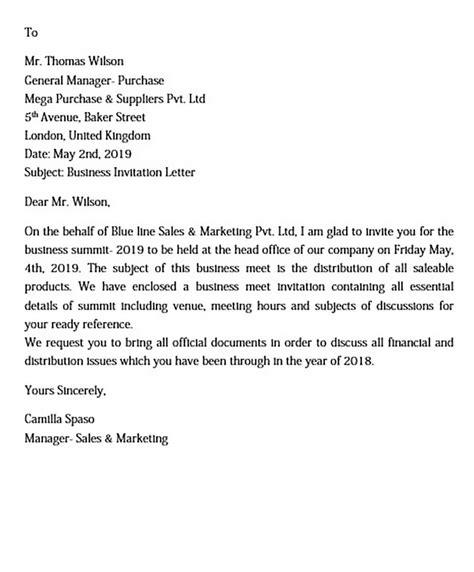 Formal Letter Birthday Invitation Reference Letter York University - Birthday invitation formal letter