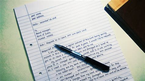 Formal Letter Writing Example English Writing A Formal Letter Esol Nexus