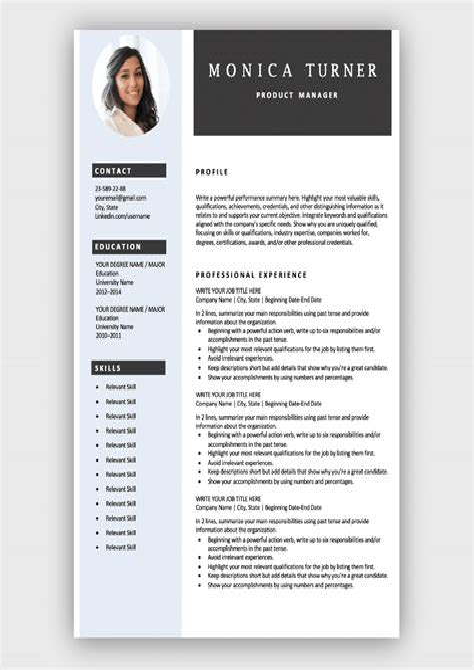 Format Of Job Resume Pdf Download Resume Format Write The Best Resume