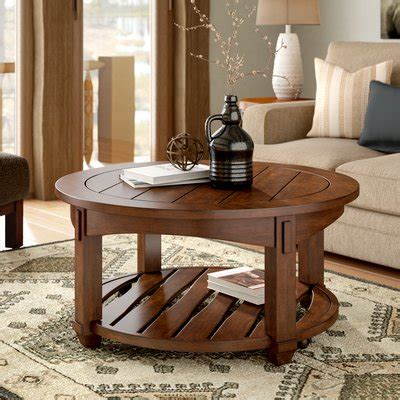 Fort Bragg Coffee Table with Lift-Top