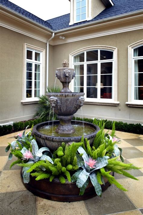 Fountain Garden Ideas