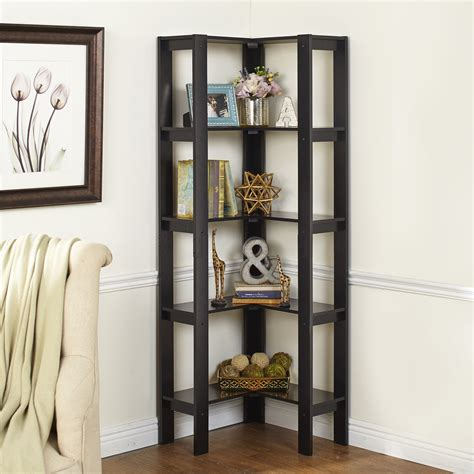 Four Shelf Corner Unit