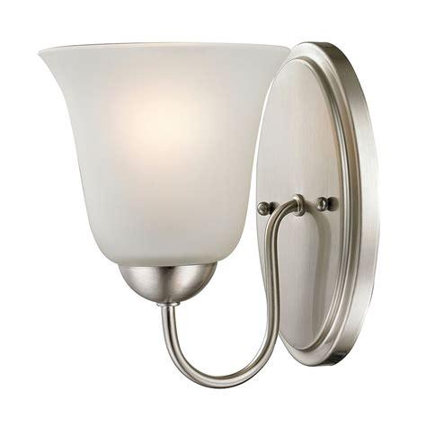 Framed 1-Light Bath Bar