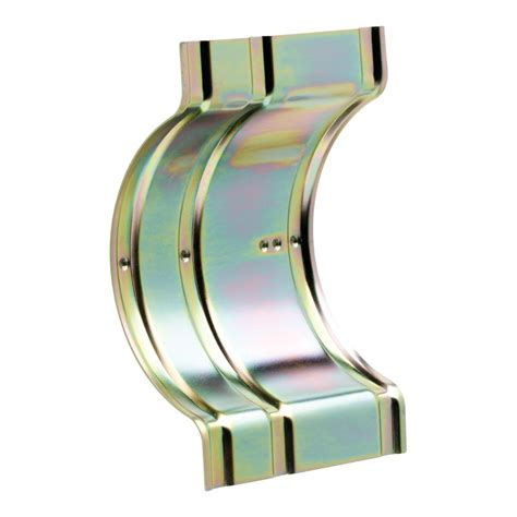 Brass Franklin Brass 600r Recessed Wall Clamp.