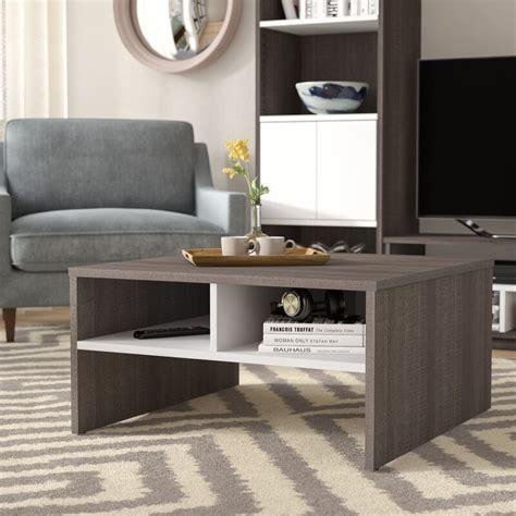 Frederick Storage Coffee Table with Magazine Rack