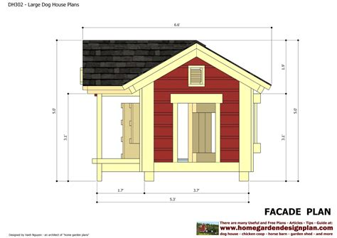 free printable woodworking plans dog house