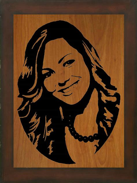 free scroll saw portraits
