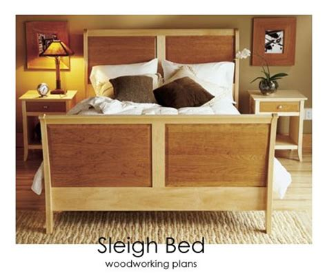free sleigh bed woodworking plans