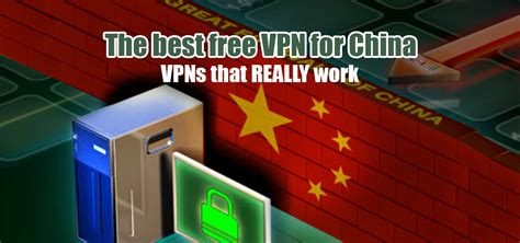 free vpn for china website