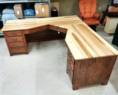 free woodworking office desk plans