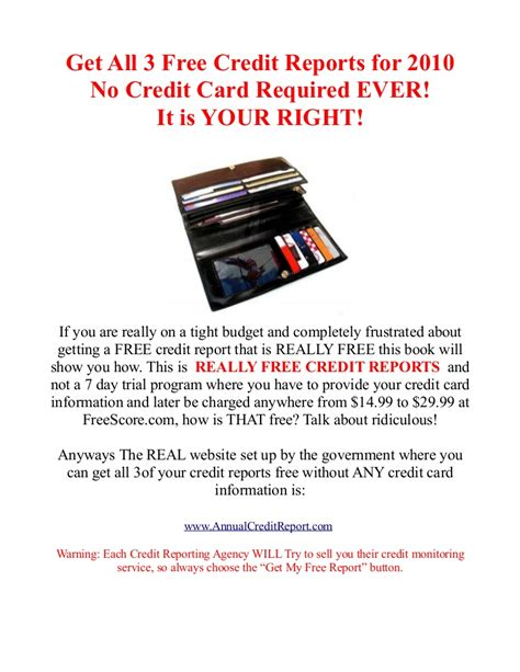 Credit Card Access Check Free Credit Report No Credit Card Needed