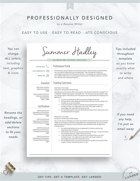 Free Cv Template For Teachers 51 Teacher Resume Templates Free Sample Example Format