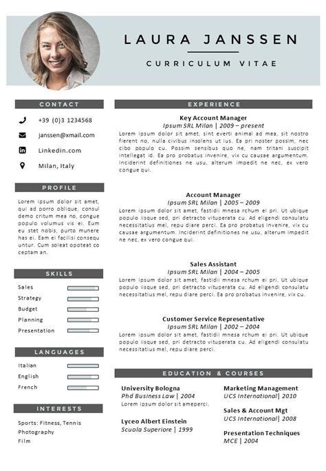 Free cv template english cover letter tips for financial pros free cv template english cv template milan go sumo cv template yelopaper Choice Image