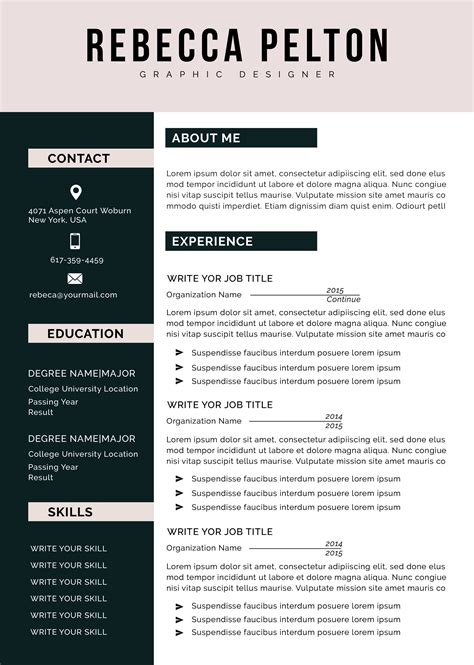 free cv template new zealand how to make your resume job specific resume free resume templates - Free Resume Templates New Zealand