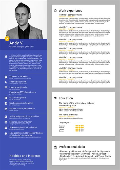 Free Cv Templates For Word Free Curriculum Vitae Cv Templates For Microsoft Word