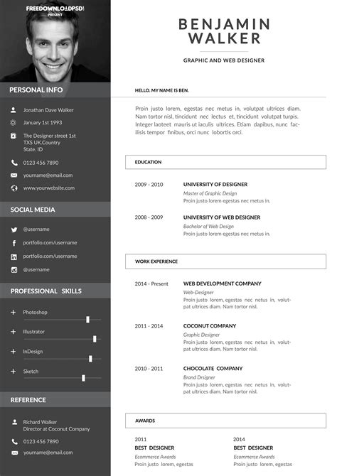Free cv templates bar work layout for resume references page free cv templates bar work free cv templates total jobs yelopaper Gallery