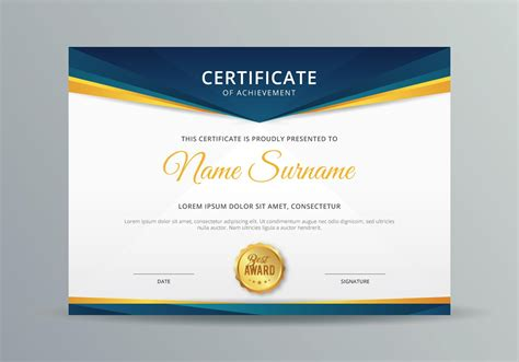 Free download certificate template powerpoint objective for free download certificate template powerpoint free diploma certificate template for microsoft powerpoint yadclub Image collections