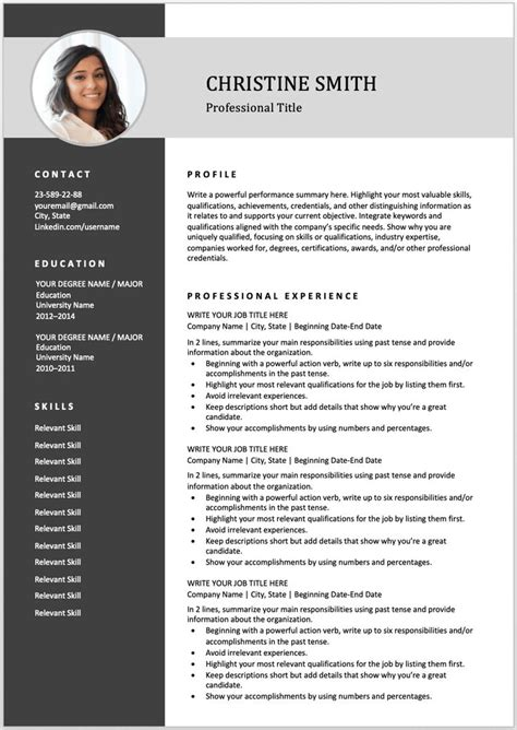 resume templates for it professionals free download a professional two page investment analyst cv example free - Resume Templates For It Professionals Free Download