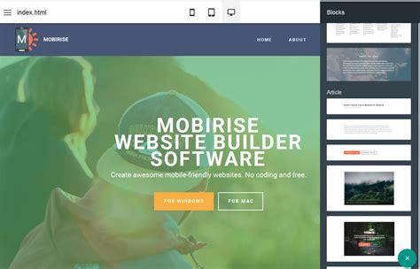 resume builder mobile free mobile website builder software mobirise mobile resume builder - Mobile Resume Builder
