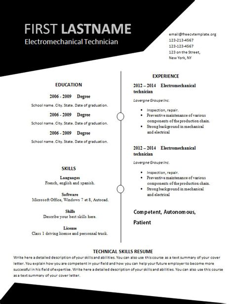 Free Resume Templates Cover Letter Get Free Resume Templates And Cover Letter Samples