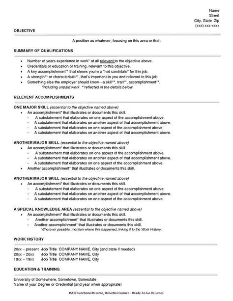 free resume template highlighting skills create a resume template
