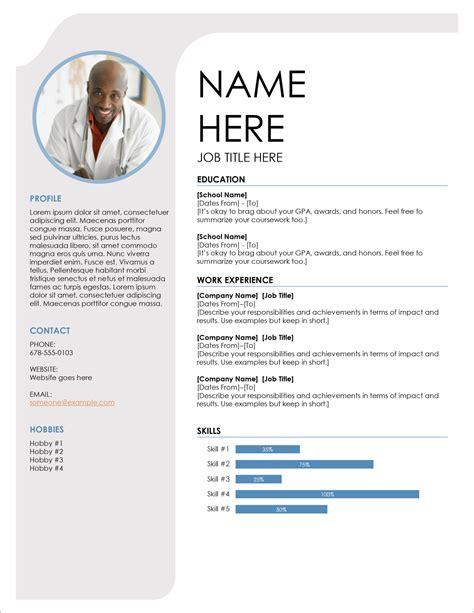 Free Resume Templates Design Resume Templates