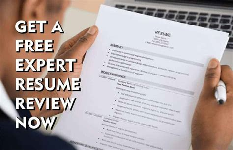 free resume review critique review your resume free resume help - Resume Review Free