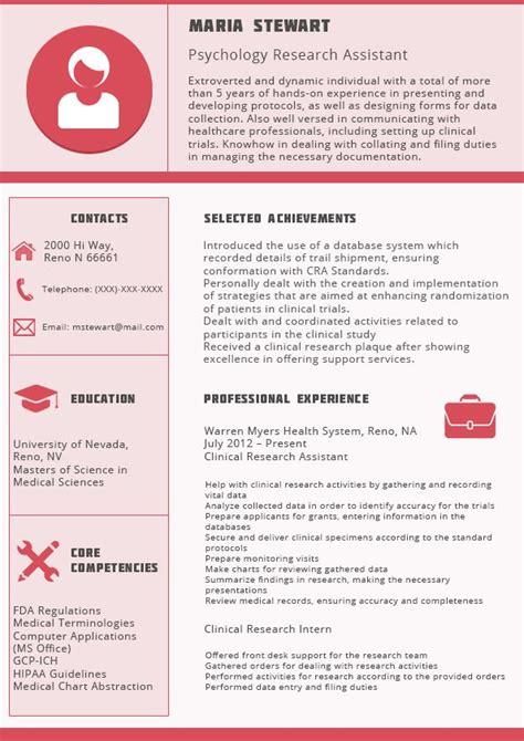canadian resume format