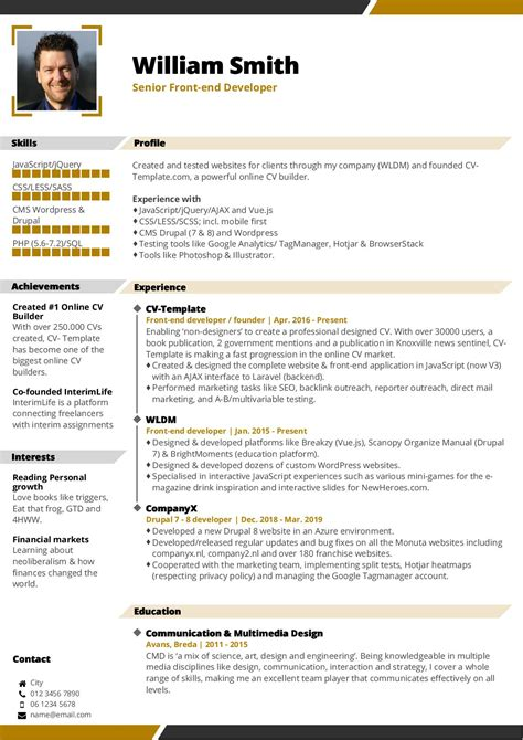 resume template free easy free resume templates free resume creator online - Free Easy Resume Builder