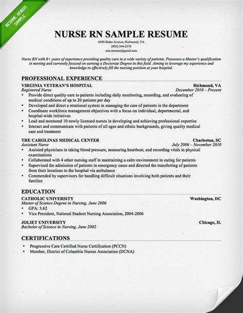 Free Sample Nursing Resume Templates Nursing Resume Templates Free Resume Templates For