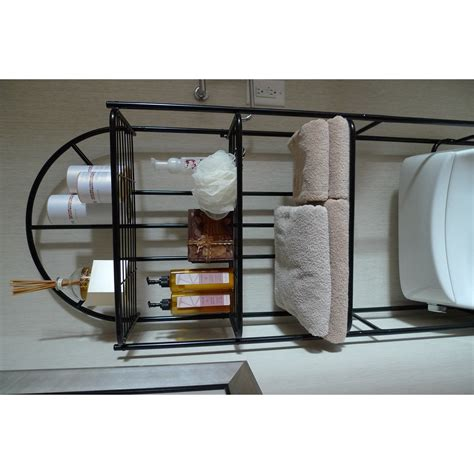 Free Standing 23.2 W x 69 H Over the Toilet Storage